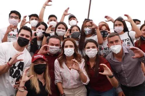Impulsará Clara Luz a jóvenes de Nuevo León