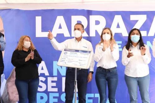 Se compromete Larrazabal a construir paso elevado