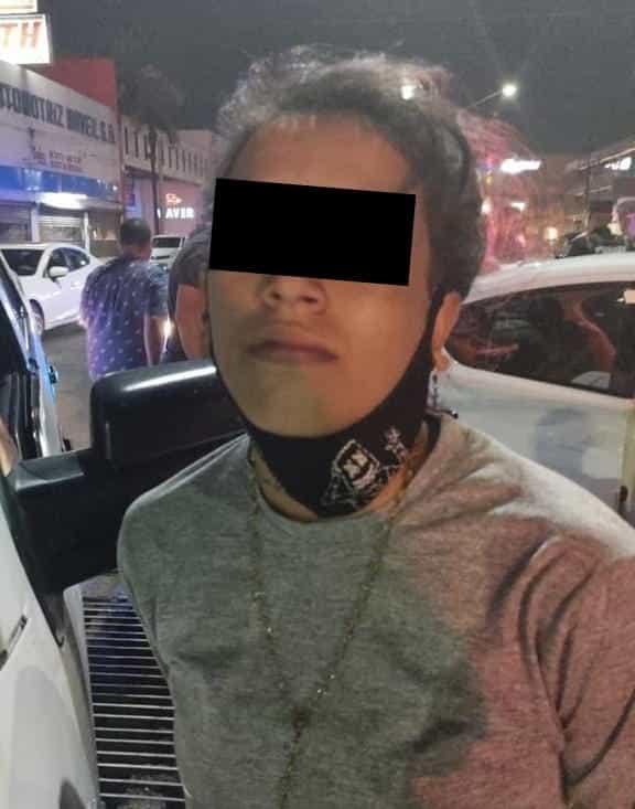 Una banda de presuntos ladrones de autos fue detenida en la Avenida Gonzalitos