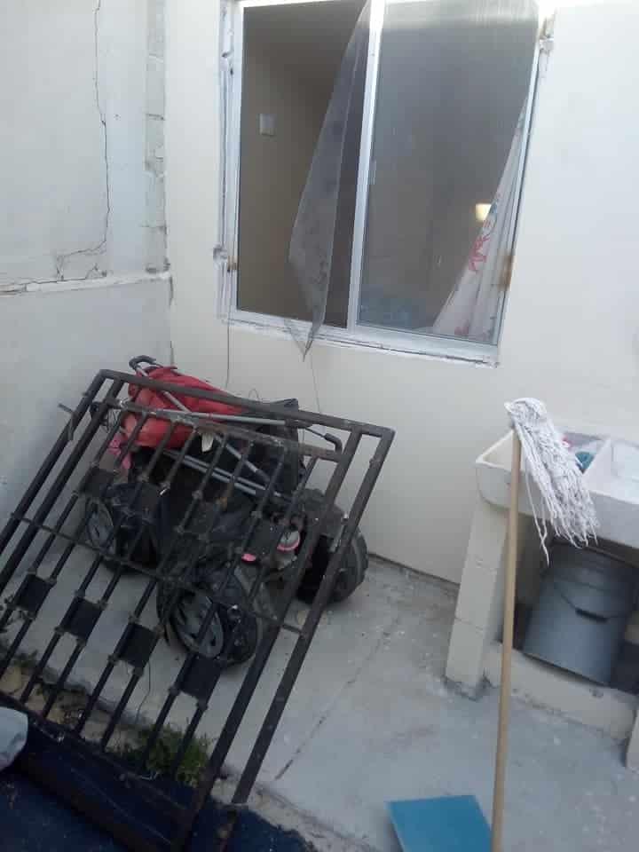 Los delincuentes ingresaron al sitio luego de forzar los protectores de acero, llevándose más de 40 mil pesos en diferentes pertenencias.