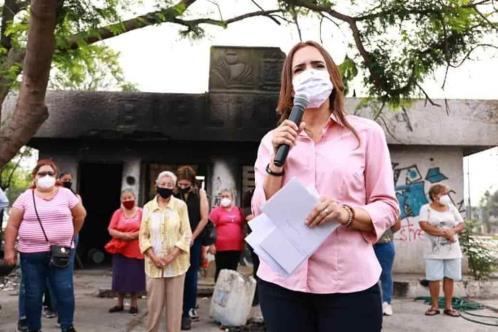 Promete Clara Luz acabar con la delincuencia