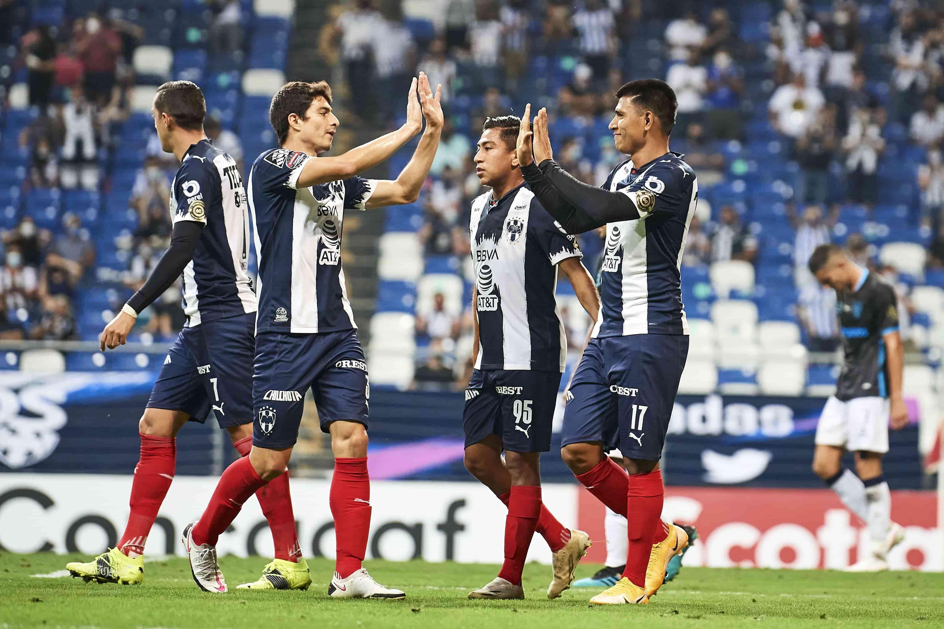 CF Monterrey  (6) 3-1 (1) Atletico Pantoja