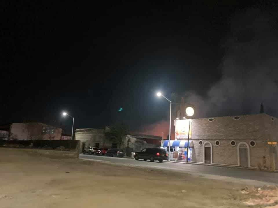 El centro de fiestas infantiles terminó totalmente destruido al producirse un incendio