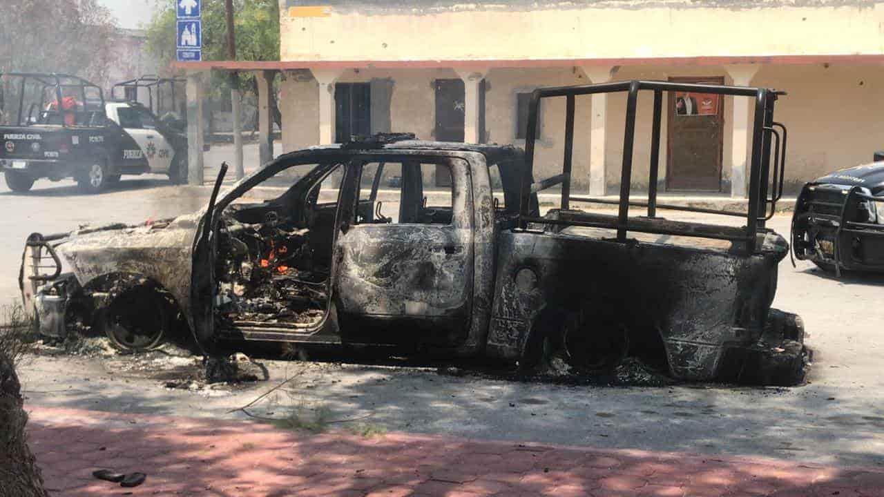 Al menos un elemento de Guardia Nacional fallecido y 15 lesionados dejó ayer un enfrentamiento entre delincuentes y efectivos de la policía en Los Aldamas