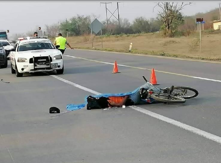 Un vehículo fantasma acabo con la vida de un ciclista al atropellarlo