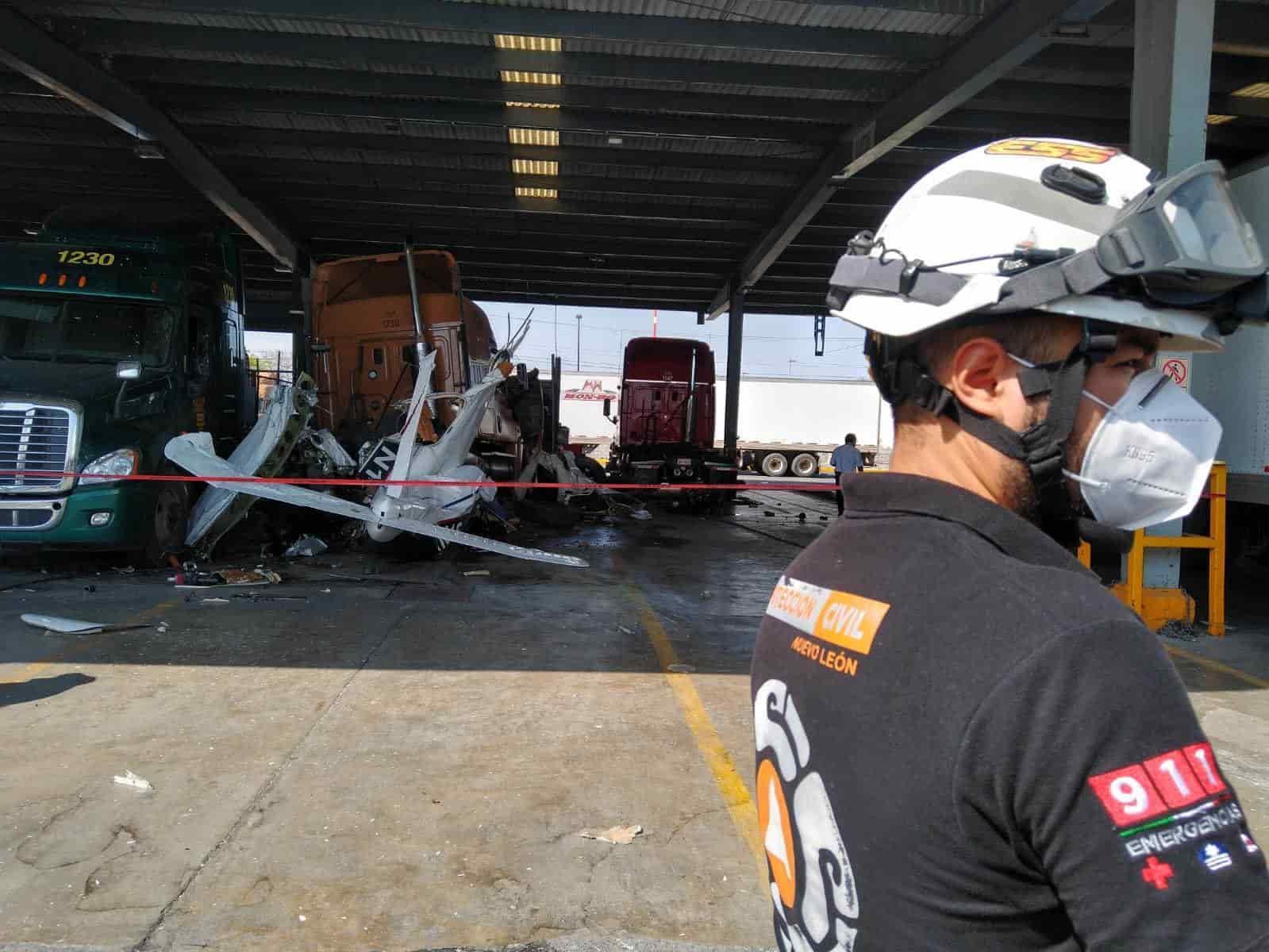 Iniciaron la investigación para esclarecer las causas que originaron el desplome de la avioneta