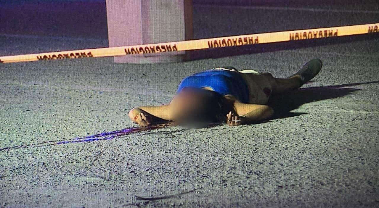 De la menos cinco balazos, una mujer fue ejecutada