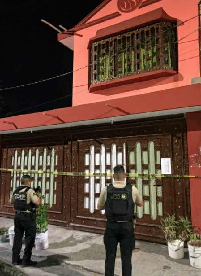 Una mujer de la tercera edad y tres hombres fueron detenidos tras un cateo