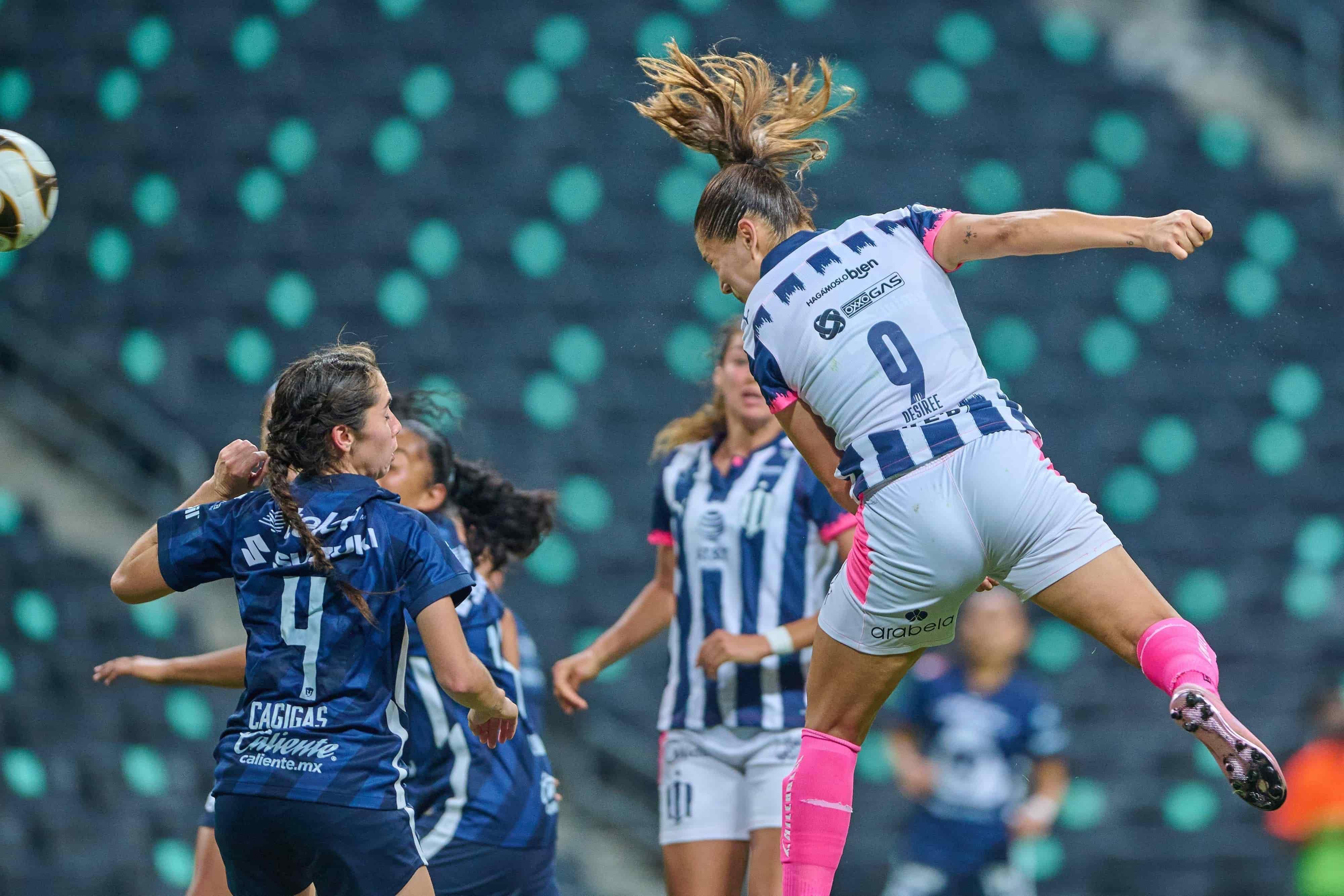 Monterrey (4) 2-1 (2) Pumas UNAM CFV