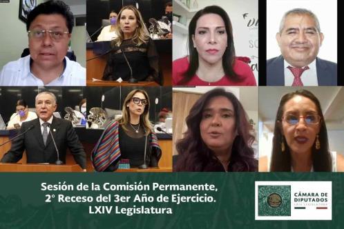 Impulsan diversas iniciativas en la Comisión Permanente