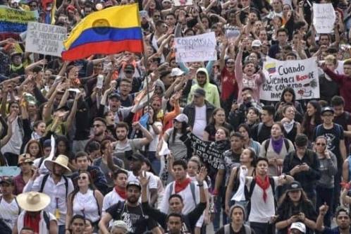 Colombia cumple 15 días de paro nacional