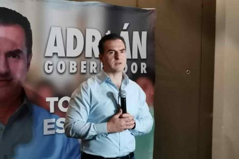 Defenderé la democracia de este país- Adrián de la Garza