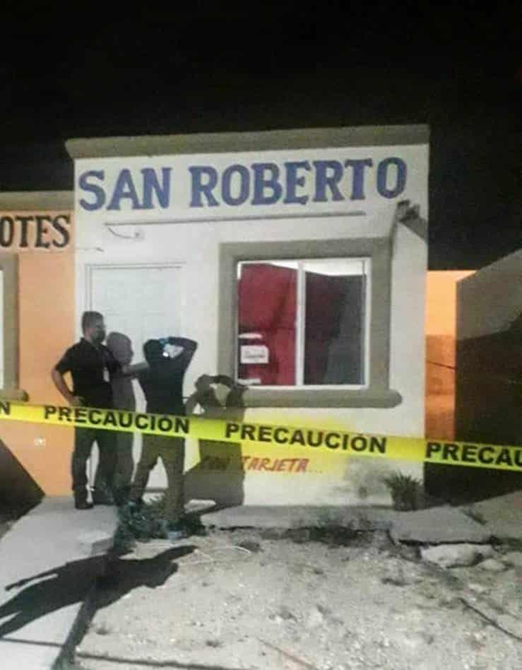Catearon una tienda de abarrotes, donde fue agredido un menor de diez meses