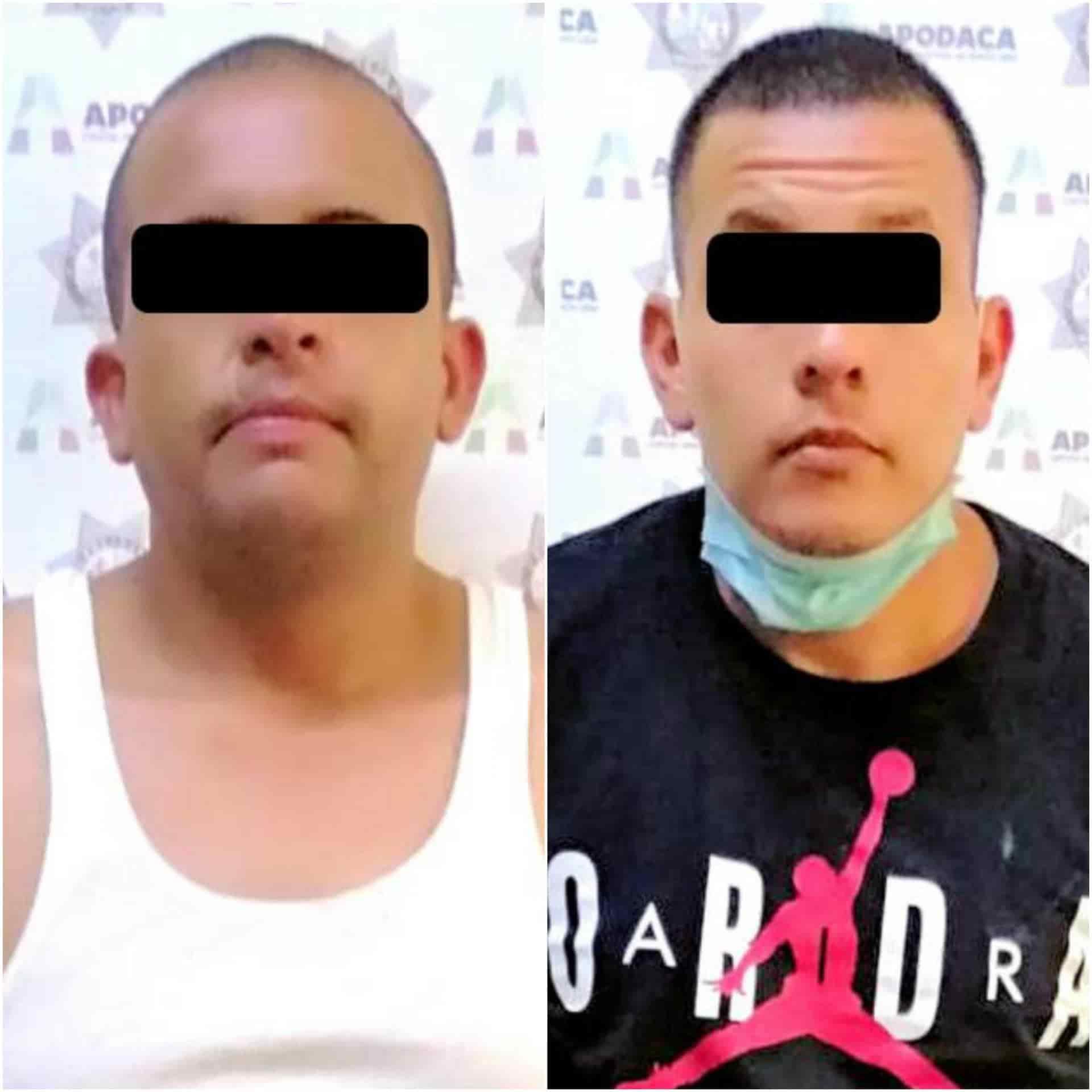 Lograron detener a tres narcotraficantes, que transportaban 35 kilos de mariguana