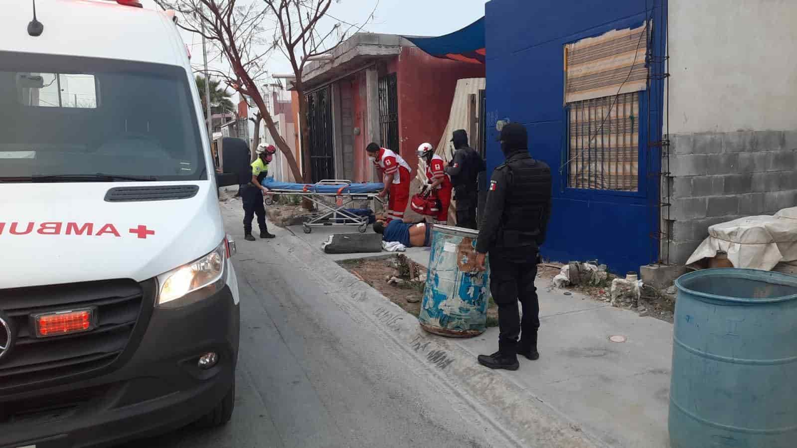 Con un balazo en la cadera resultó un hombre luego de ser atacado  en su domicilio