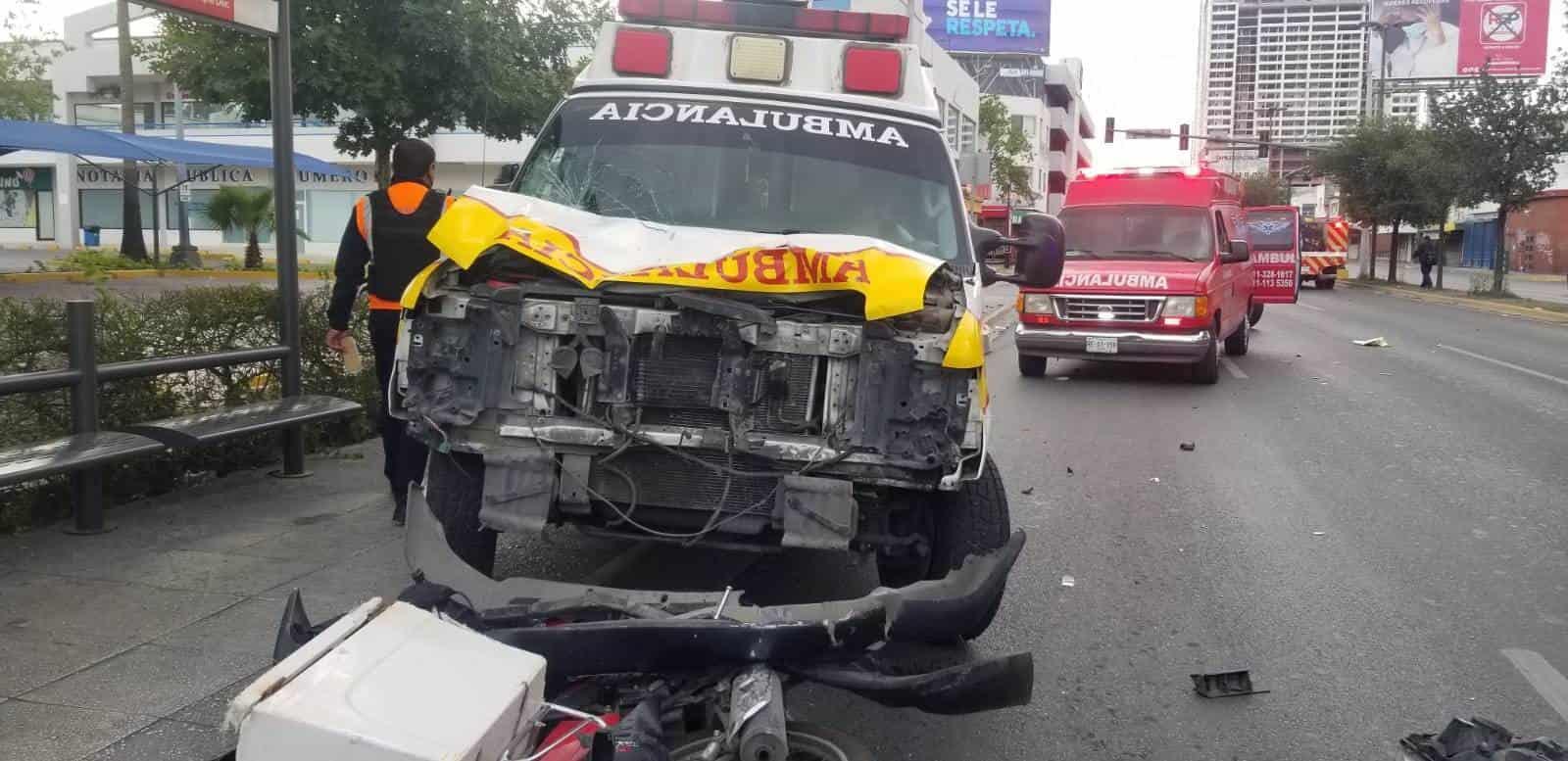 Un motociclista murió luego de ser embestido por el conductor de una ambulancia
