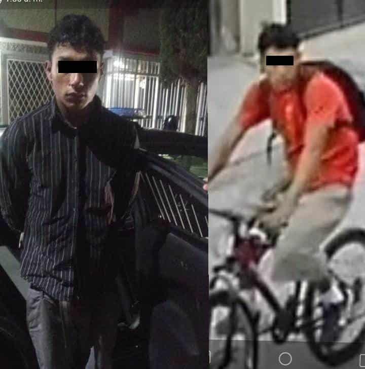 Lo detienen cuando brincaba la barda de un domicilio al que ingresó a robar