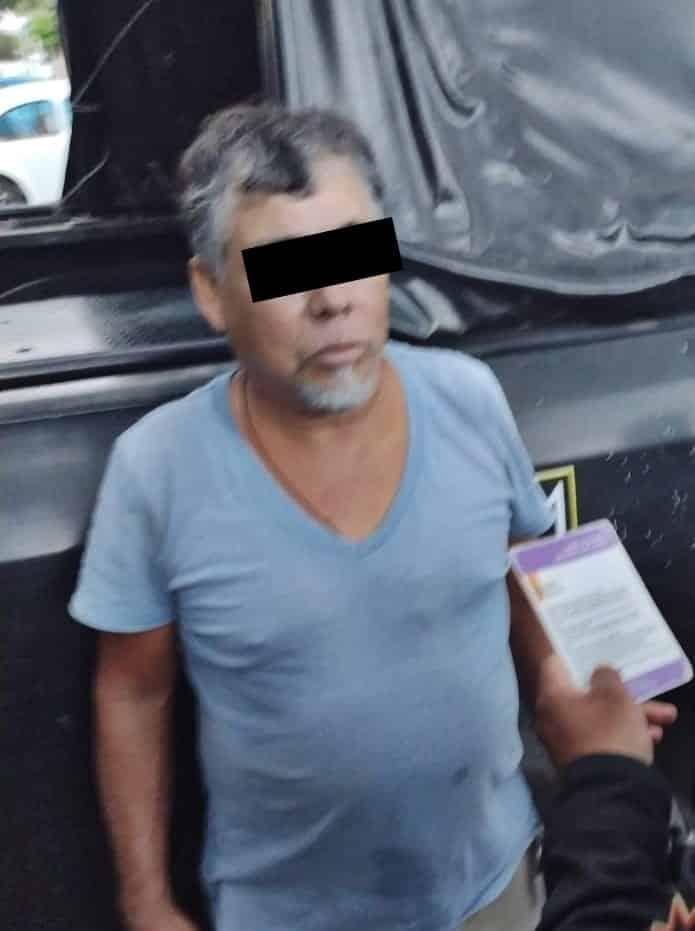 El narco-distribuidor de droga fue detenido por elementos de la División de Acciones Tácticas