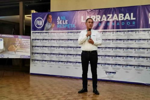 Asegura Larrazabal que cumplirá todas sus promesas