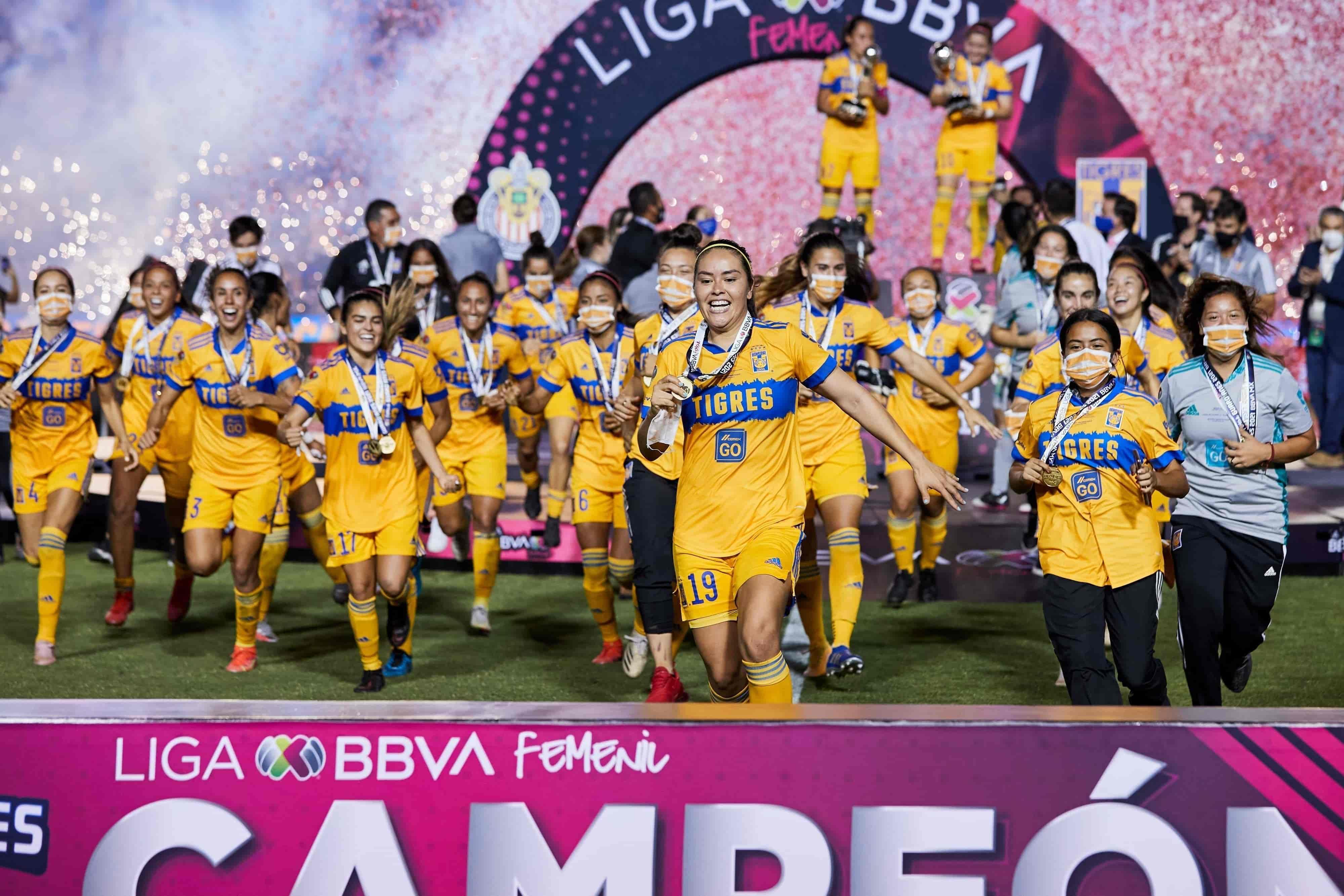 Primeras bicampeonas de Liga MX Femenil
