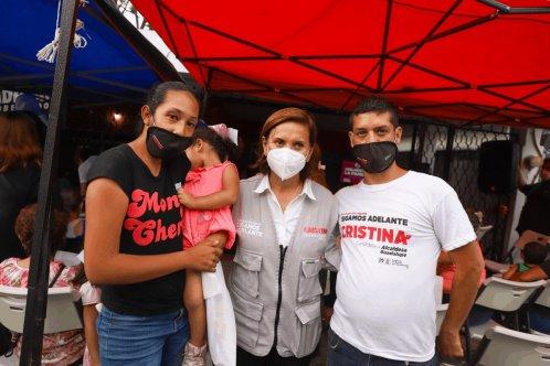 Propone Cristina donar a familias jóvenes 25% del ISAI