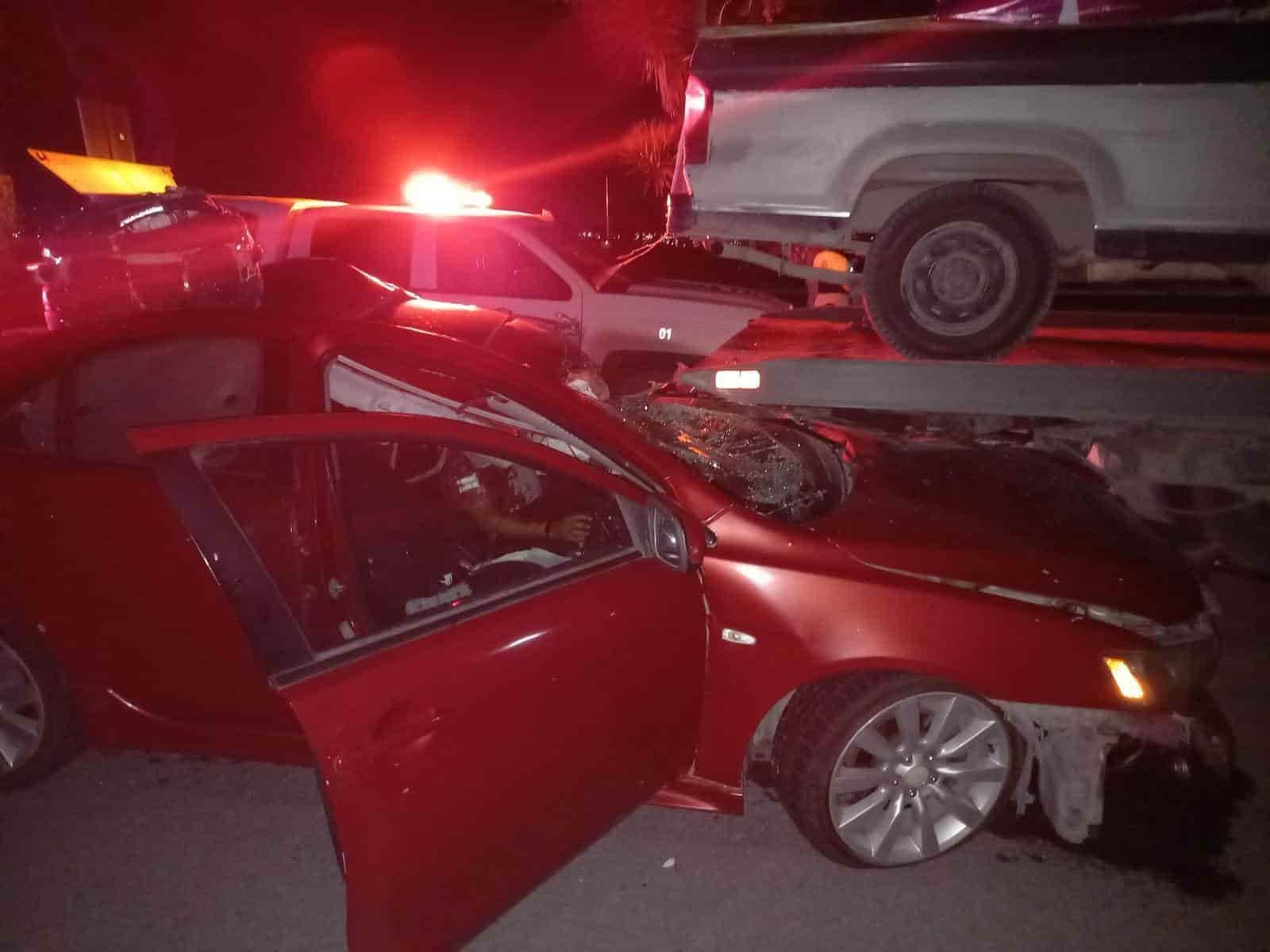 El hombre que falleció al chocar su automóvil contra una grúa, si era elementos de la Guardia Nacional División Caminos
