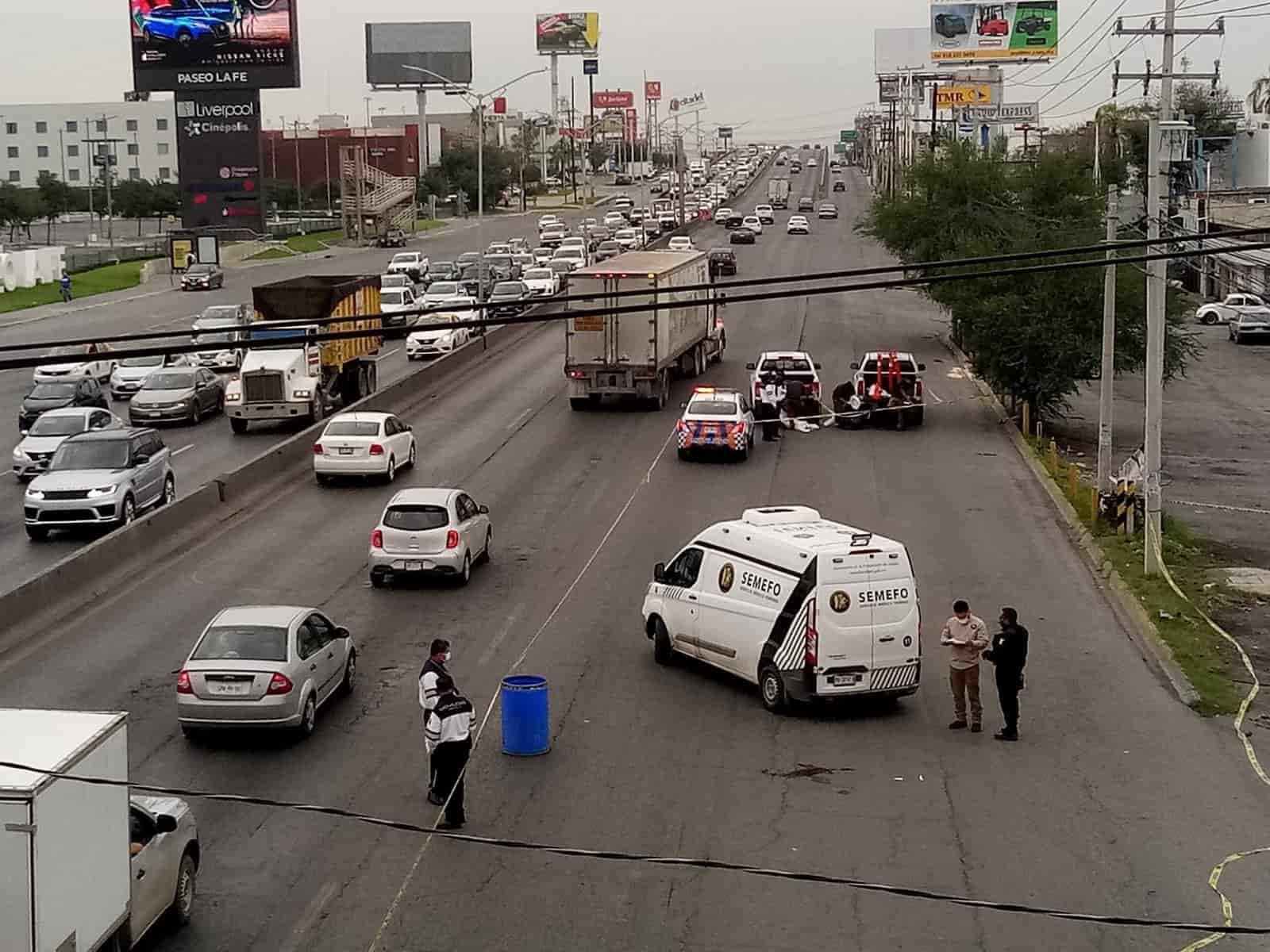 Investigan la muerte de un hombre que fue encontrado sin vida en la Avenida Miguel Alemán