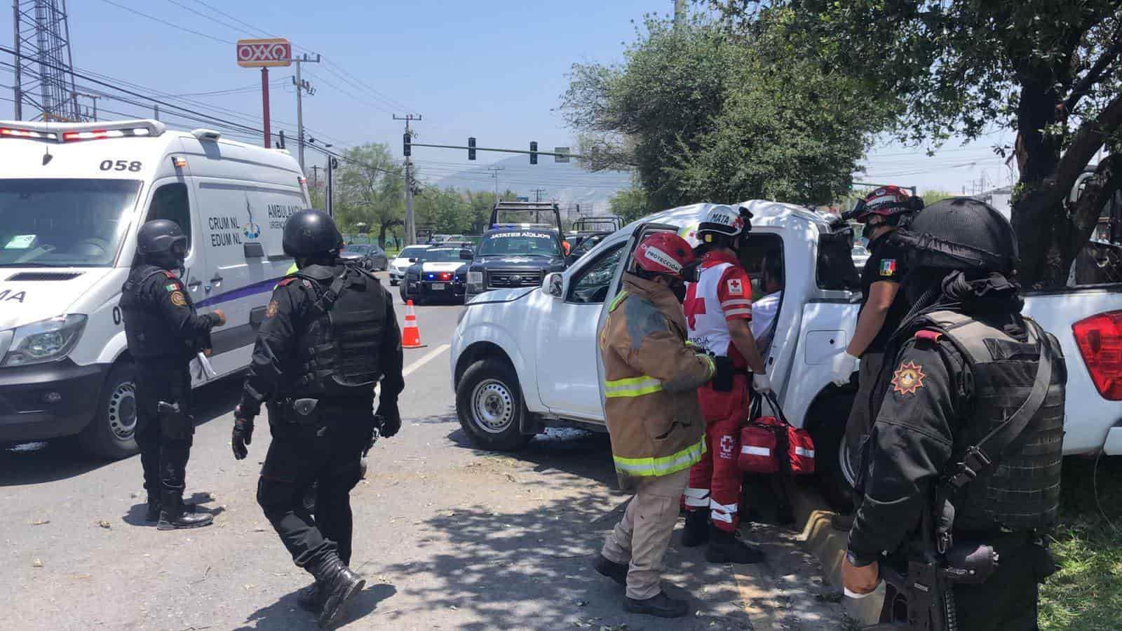 Dos personas sin vida y un lesionado, fue el saldo que dejó un choque de crucero