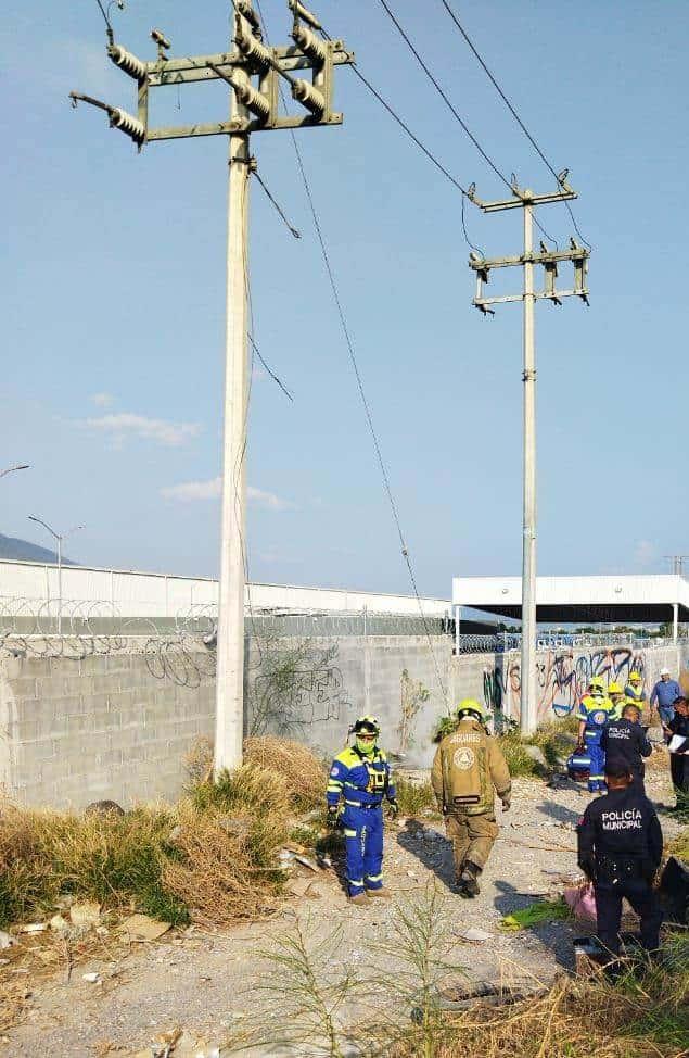 Un hombre murió al recibir una descarga eléctrica, en Santa Catarina