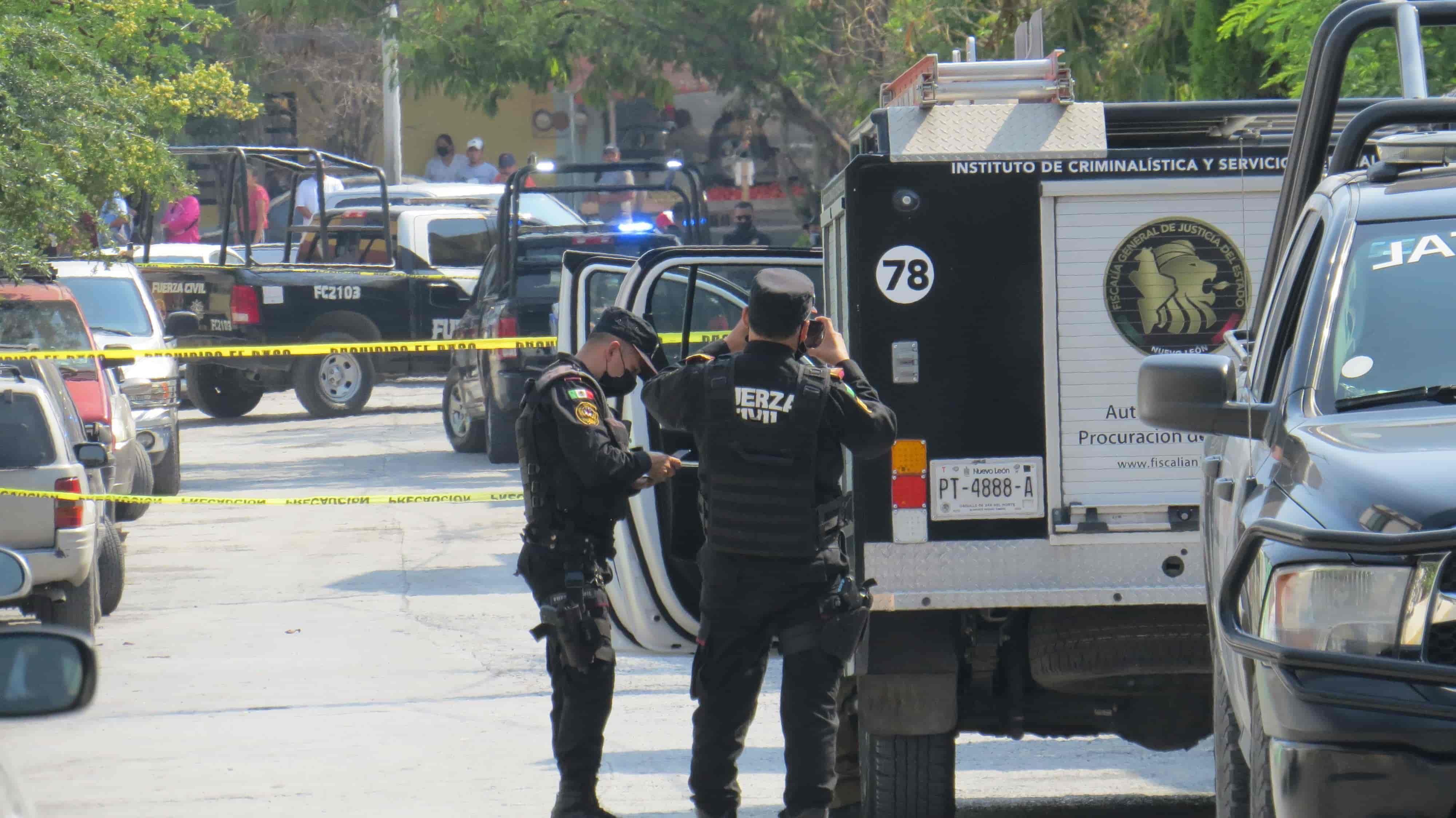 En un ataque balazos con armas largas un hombre y su hijo fueron ejecutados