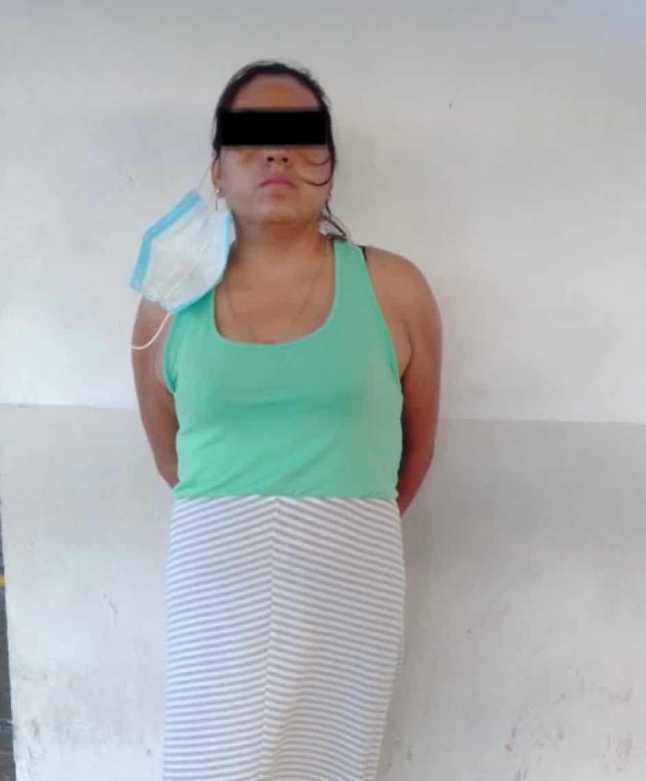 Detuvieron a una mujer, quien sustrajo mercancía sin pagar de un centro comercial