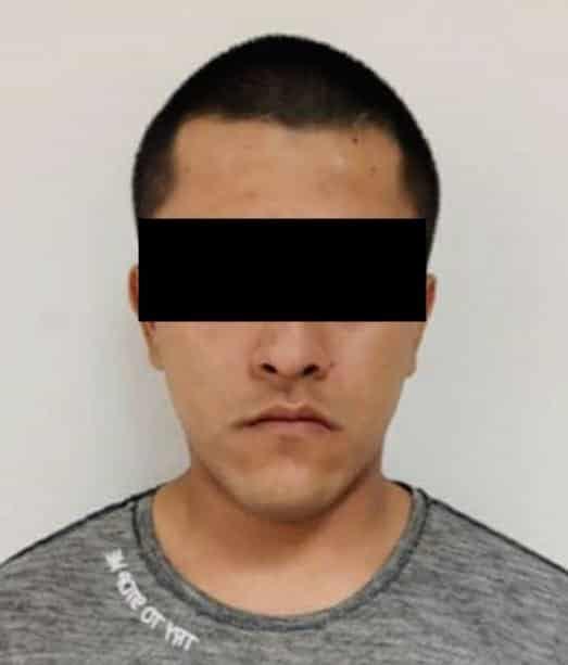 El narcomenudista fue detenido tras un cateo