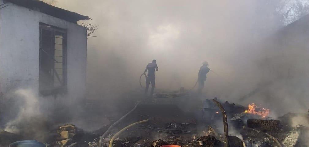 Reportarse el incendio de un predio baldío ubicado a espaldas de las instalaciones de Fuerza Civil.