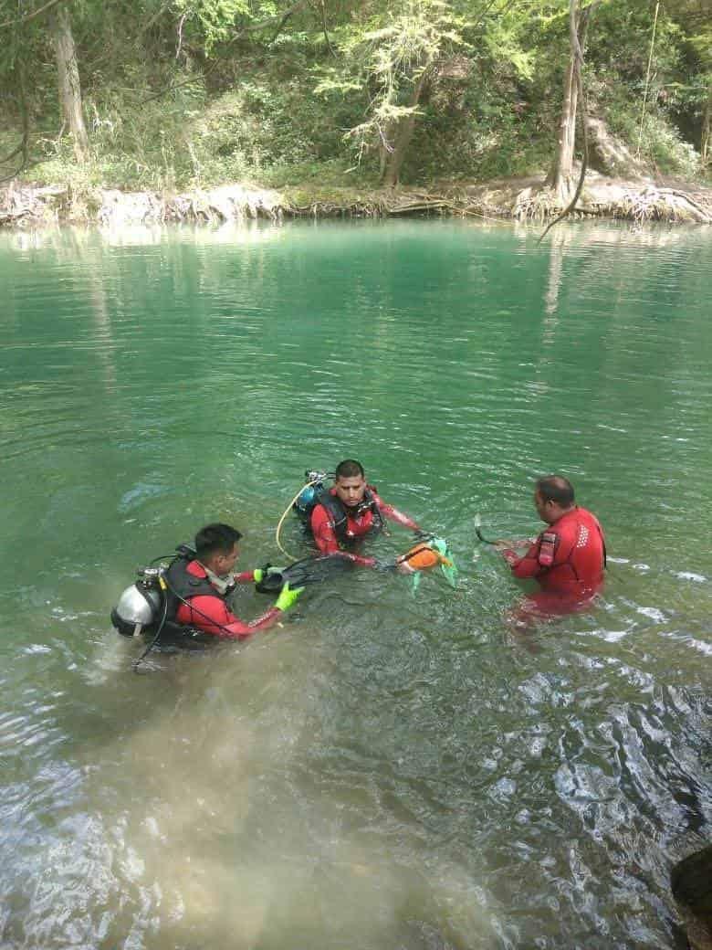 Uno de los integrantes de la familia, murió ahogado en el Río Ramos