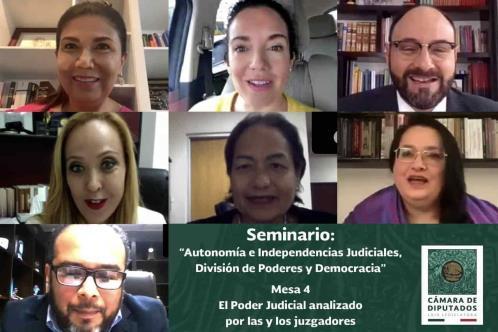Diputadas de distintos grupos parlamentarios organizan mesa