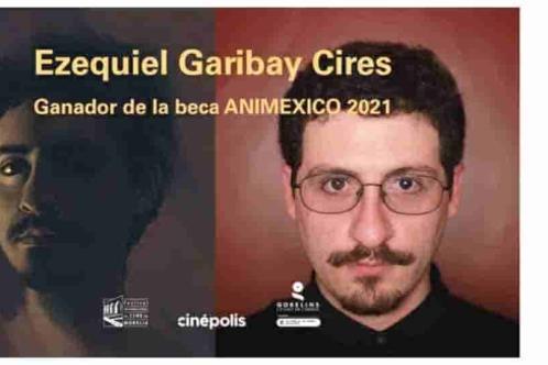 Gana Ezequiel Garibay la beca Animexico 2021
