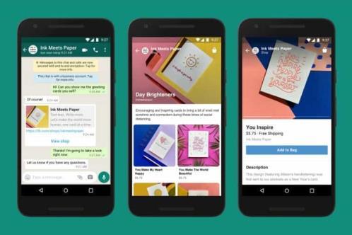 Facebook añade sus tiendas online a la app de mensajería