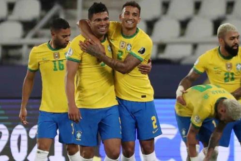 Vence de último momento Brasil a Colombia