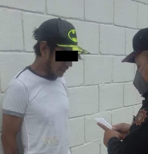 Con diversas dosis de cristal fue arrestado un hombre en Zuazua