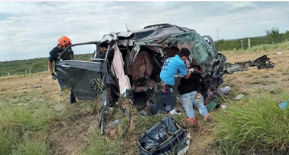 Una mujer originaria del país sudamericano de Ecuador, perdió la vida al participar en un accidente vial