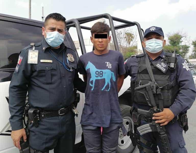 Un hondureño fue arrestado luego de robar una patrulla de Movilidad de San Nicolás