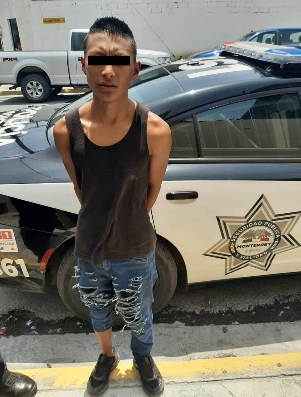 Lo detienen luego de robar una motocicleta de un domicilio