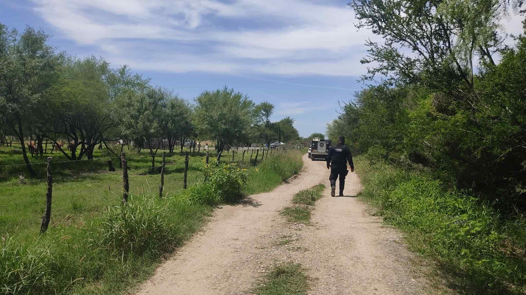 Un campesino de Cadereyta, fue asesinado de balazo en la frente, con un rifle de cacería