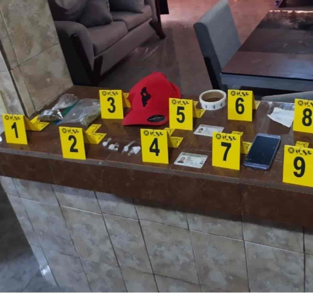 Catearon una narco-casa de un grupo de la delincuencia organizada, asegurando dosis de marihuana y cocaína