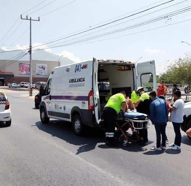 La mujer atropelló a seis personas, al subirse a la banqueta del centro recreativo