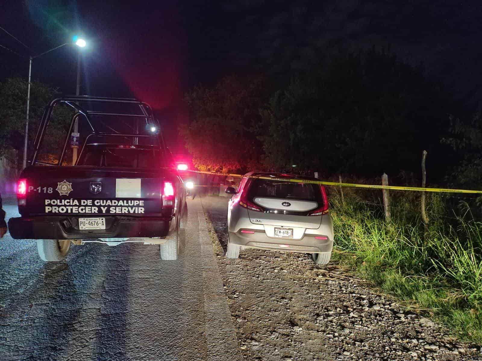 A balazos un hombre robó un vehículo y minutos después fue detenido