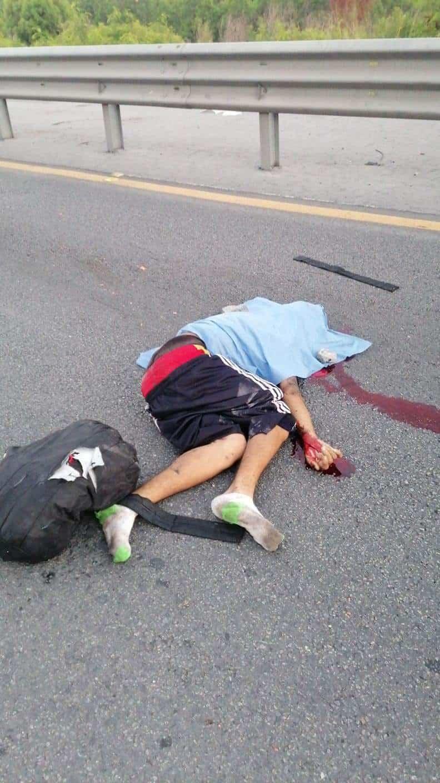 Un hombre de aspecto indigente falleció atropellado por un vehículo al cruzar la Avenida Morones Prieto