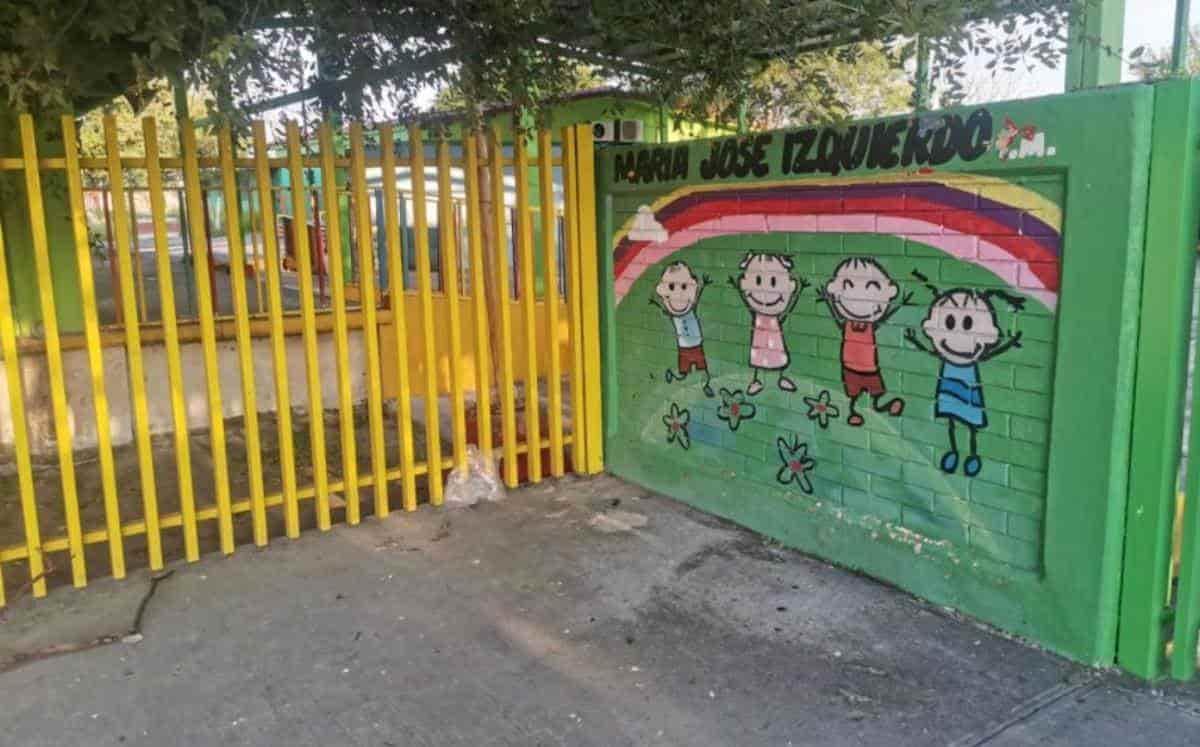 Ladrones saquearon un Jardín de Niños ubicado en Apodaca