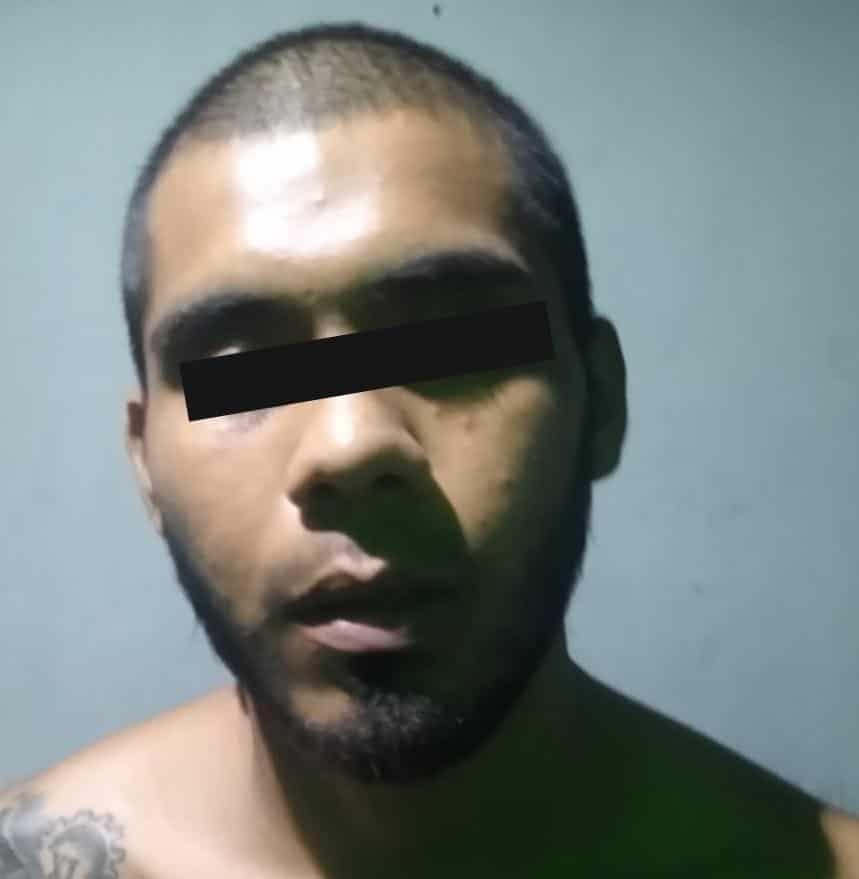 Un tropezón hizo que un narcodistribuidor fuera detenido