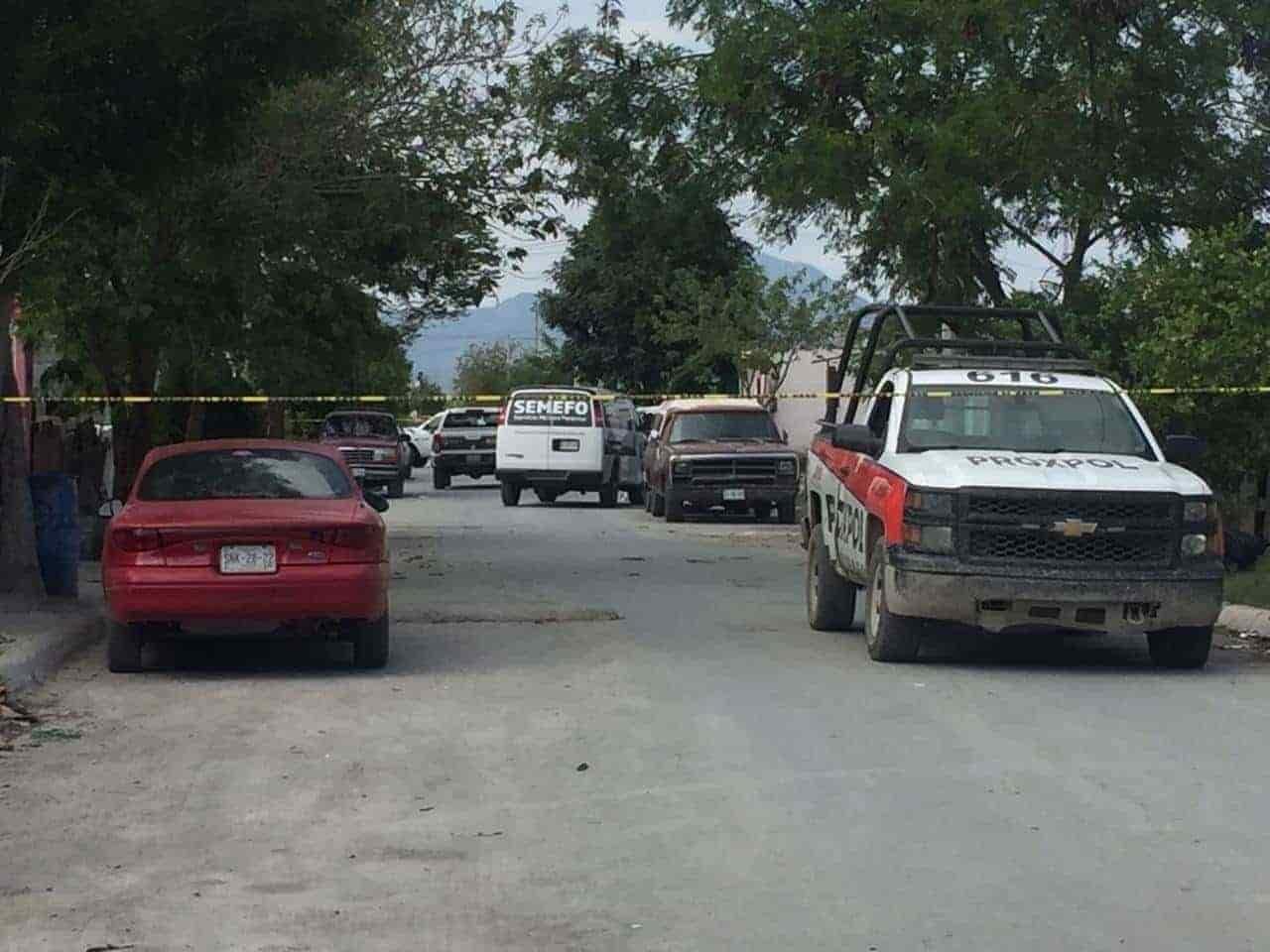 Un feminicidio con tinte de ejecución, fue cometido en el municipio de Escobedo
